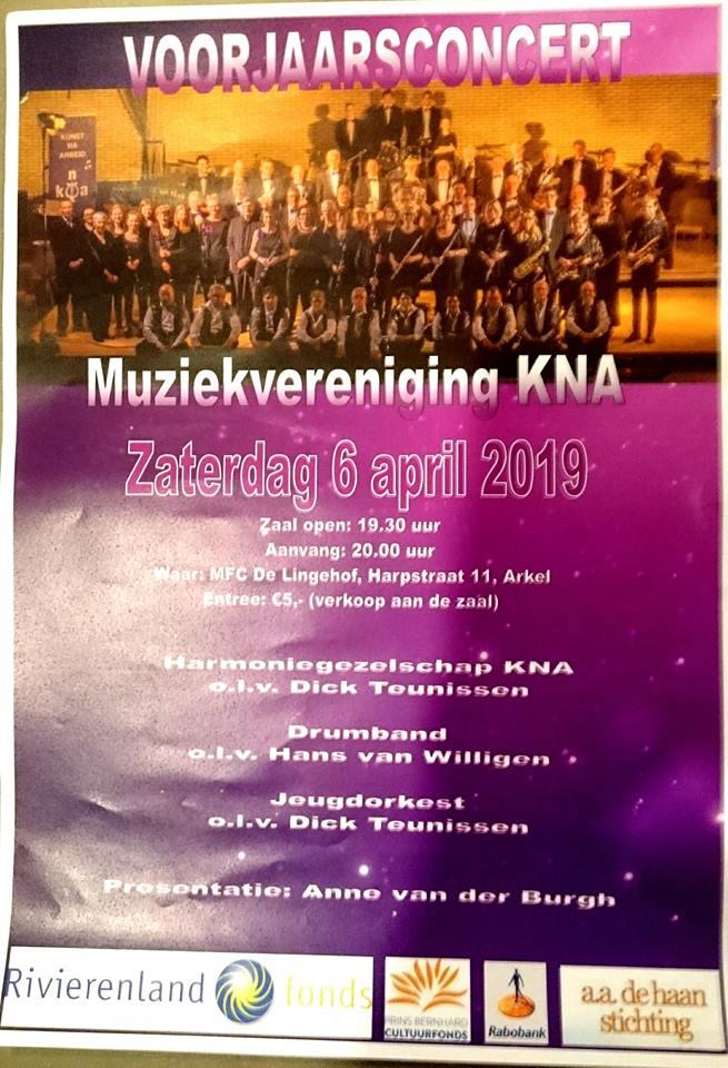 Voorjaarsconcert @ MFC De Lingehof