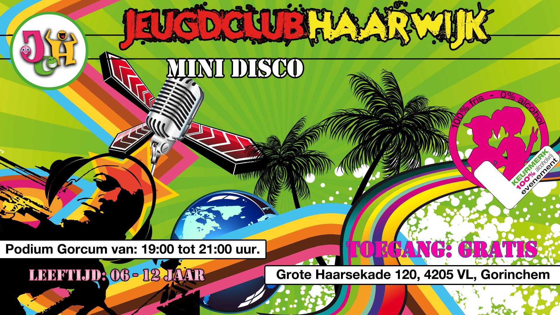 Mini Disco @ Jeugdclub-Haarwijk