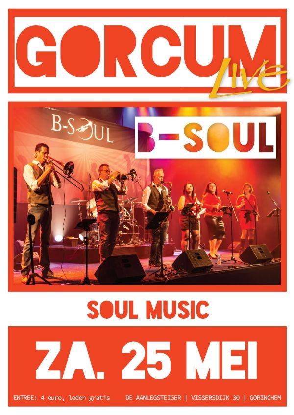 B-Soul / Soul band // Gorcum Live @ Gorcum Live