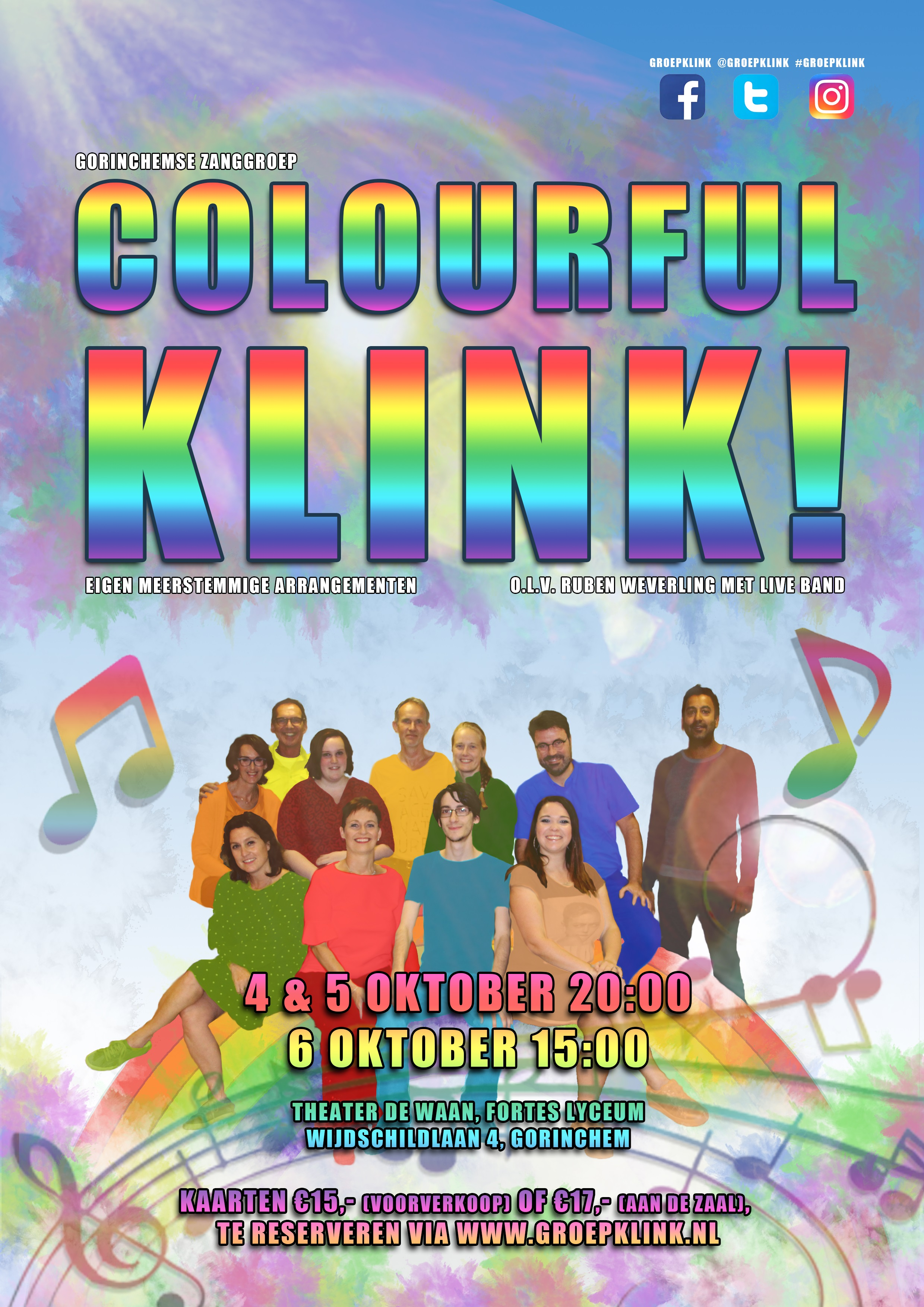 Colourful KLINK! @ theater De Waan (Fortes Lyceum Gorinchem)