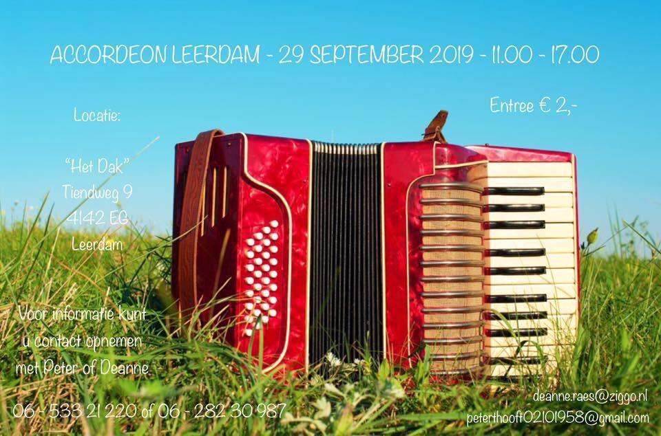 Accordeon Leerdam @ Het Dak