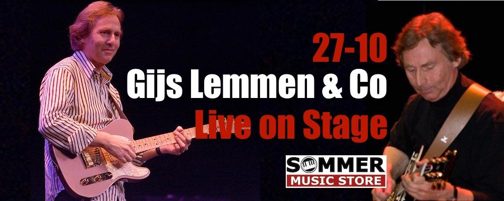 Gijs Lemmen & Co Live on Stage @ Sommer Music Store