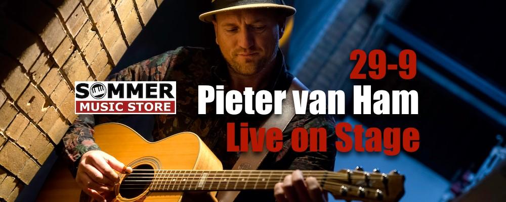 Pieter van Ham live on Stage @ Sommer Music Store