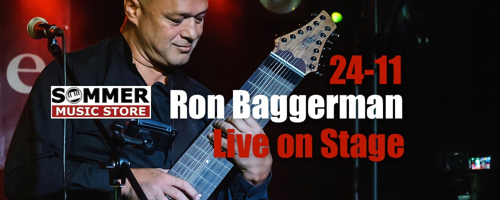 Ron Baggerman Live on Stage @ Sommer Music Store