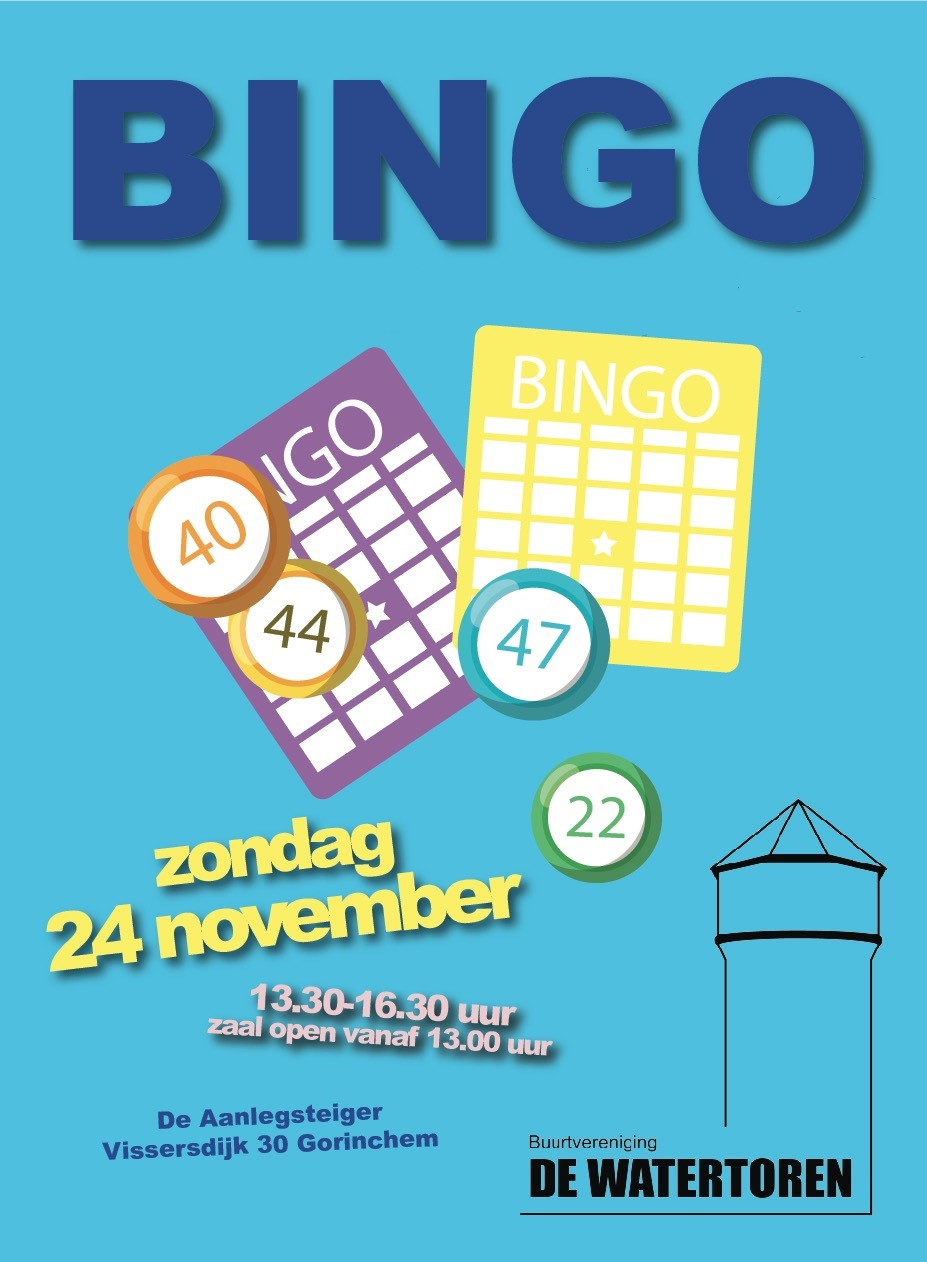 Bingo @ De Aanlegsteiger