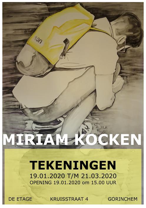 Miriam Kocken exposeert @ Boekhandel Cursief, Galerie de Etage